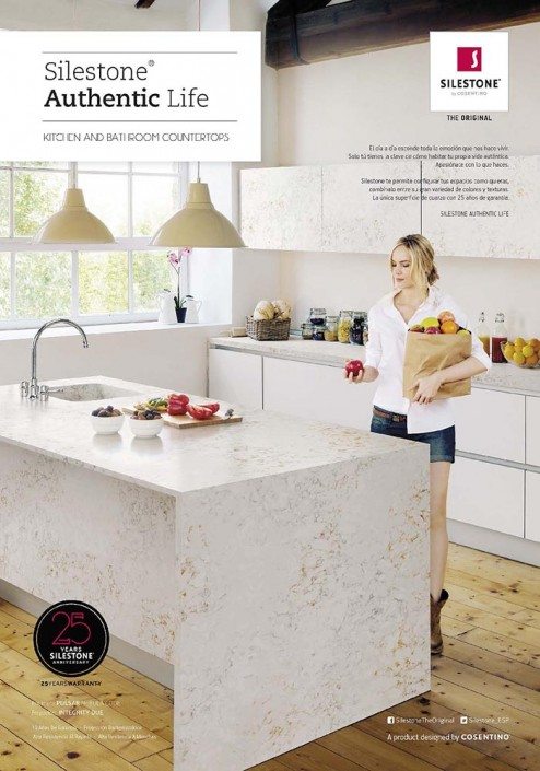 2015: Silestone Authentic Life